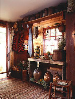 Home interior design style guide early american primitive for American country style interior design