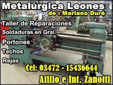 METALÚRGICA LEONES de Mariano Duré