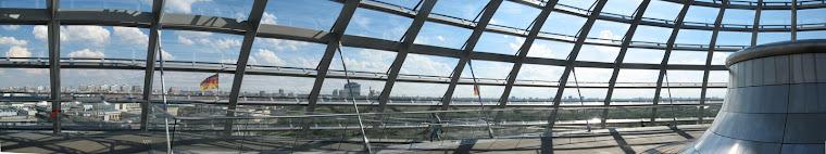 También subimos a la cúpula del Reichtag