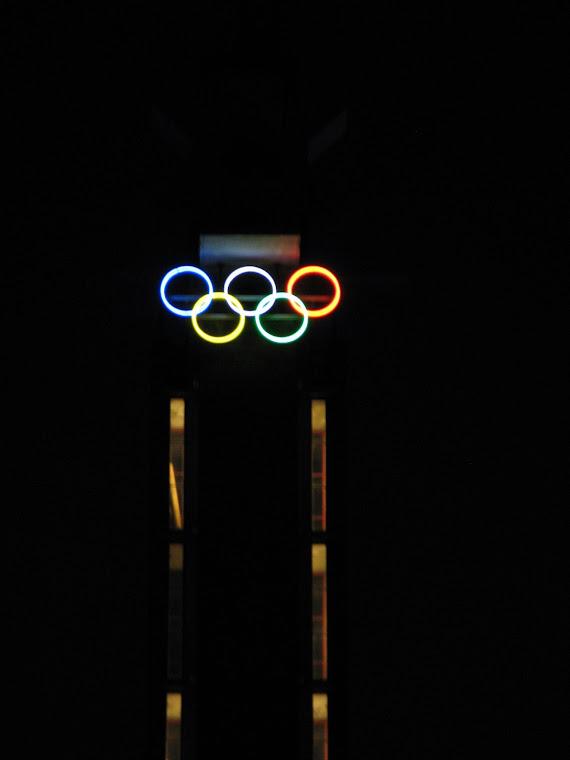 Aros del Estadio Olimpico de Amsterdam