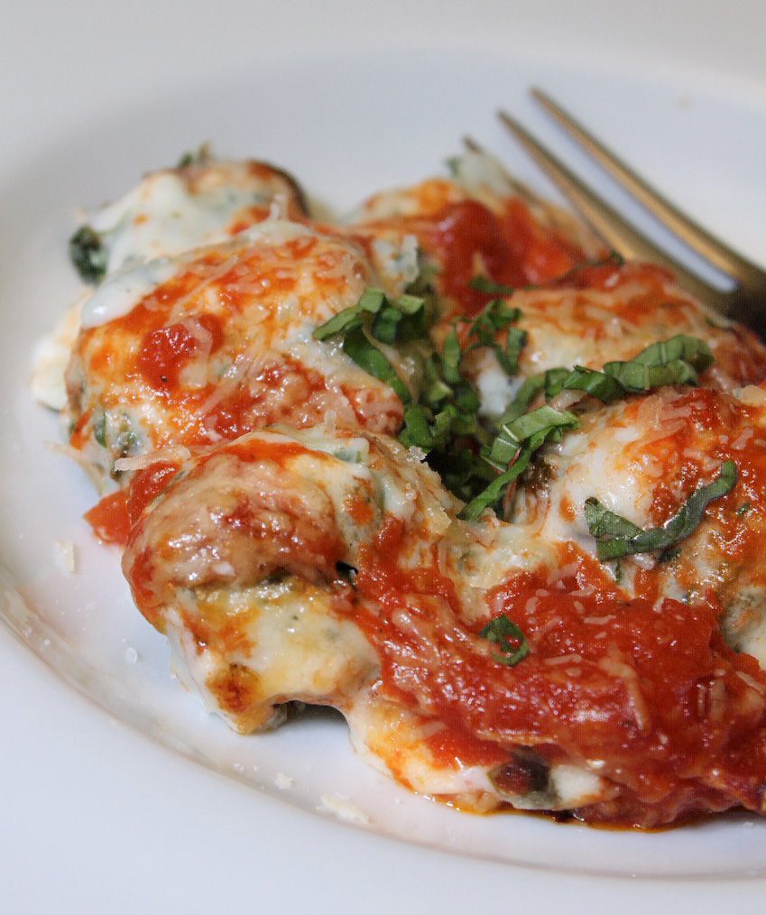 Scrumpdillyicious: Homemade Baked Spinach Ricotta Gnudi
