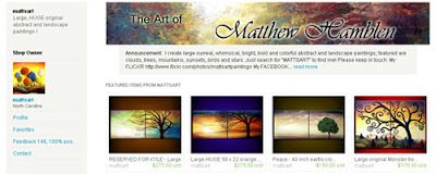 Abstract and landscape prints by MatthewHamblen on Etsy