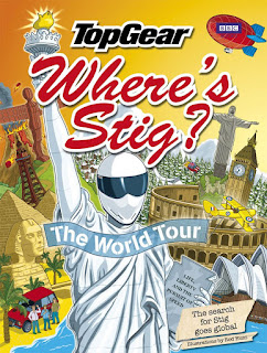 Where's Stig? The World Tour Illustrator Rod Hunt