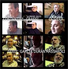 Algunos de los guionistas y dibujantes entrevistados