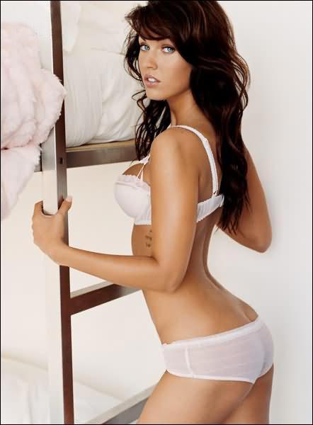 Actriz Megan Fox elegida como la mujer más sexy del mundo