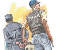 En Arroyo Cano PN apresa a Chicha y le ocupan arma de reglamento de agente