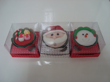 Cupcakes Natalinos