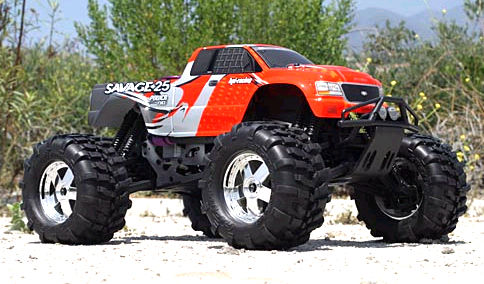 4x4 RC Monster Trucks.