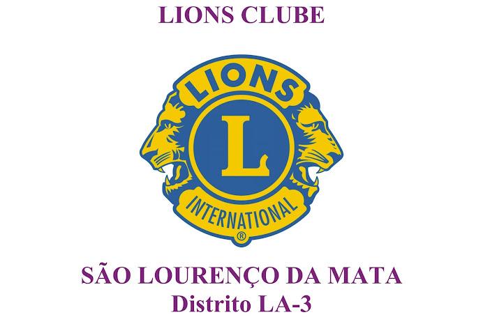 LIONS CLUBE DE SÃO LOURENÇO DA MATA