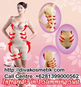 Slimming suit see on tv, baju pelangsing