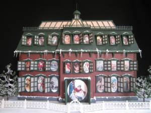 this is an exact replica of the advent house chevy chase had in national lampoons christmas vacationgreat holiday classic of family togetherness