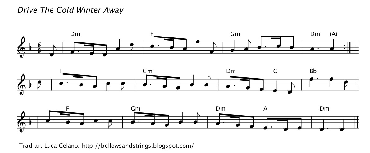 Bellows and Strings: John Playford Set - Chords