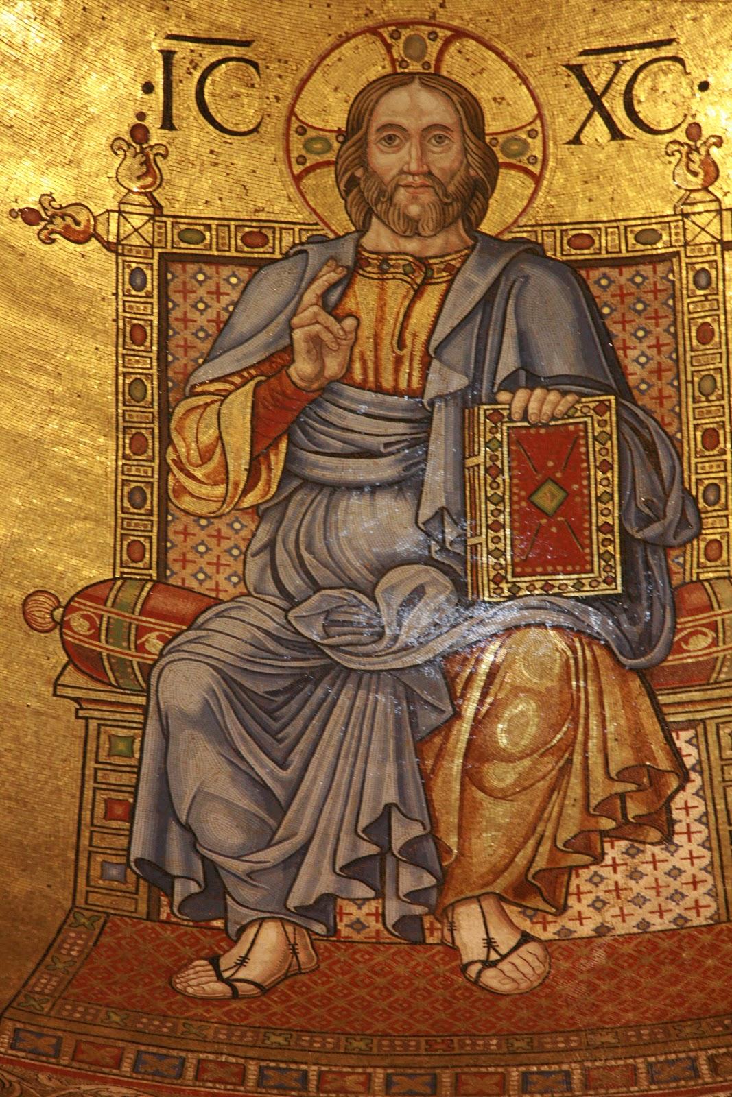 Cristo Re dell'universo dans immagini sacre