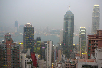 panorama dal 30° piano di Robinson Road