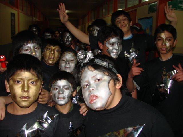 ANIVERSARIO DEL COLEGIO  LA LEYENDA DE LA CREACION DEL MUNDO SEGUN LOS AONIKENK