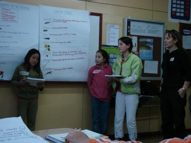 Paola Etchegaray y su grupo de Trabajo Exponiendo
