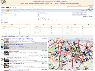 Nestoria Openstreet Map Experiment