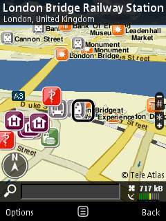 Nokia Maps 2.0 Goes Mainstream - London Bridge