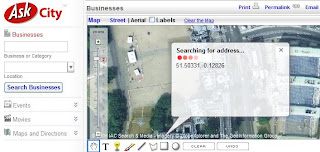 Ask Maps Reverse Address Geocoding Searching
