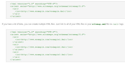 Sitemap XML Examples