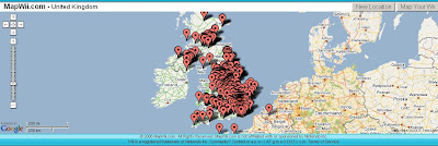 Wii Map UK
