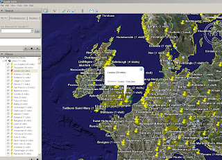 Mapperz Analytics in Google Earth