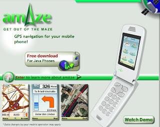 amAze - Free GPS Navigation Software