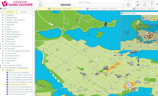 Vancouver Map Interactive Overview