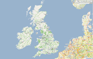 UK Geocoding Map AJAX