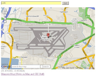 UK Geocoder Airports - LHR