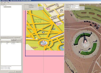 Map Cruncher Georeferencing