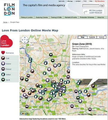Film London Movie Map