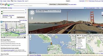 Biking Cycling Directions on Google Maps in Beta
