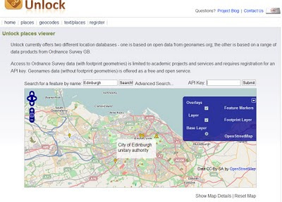 Unlock API Map OSM