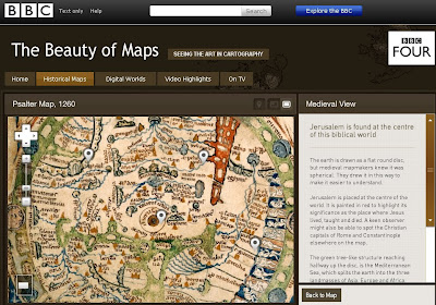 Psalter 1260 Map