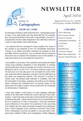 Society of Cartographers April 2010