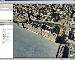 Google Earth 4.3 beta better 3D Buildings