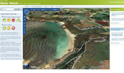 Water Watch Eye on Earth in 3D