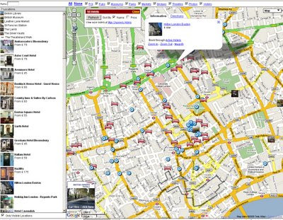 Map Channels - Multiple Feed Maps - London
