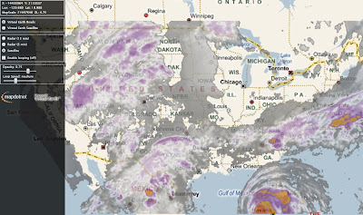 MapDotNet Virtual Earth US Radar Cloud Map