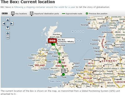 THE BBC BOX MAP - Tracked