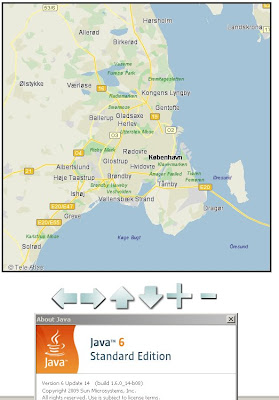 Ericsson Web Maps - Java