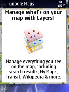 Google Maps Mobile - More Layers