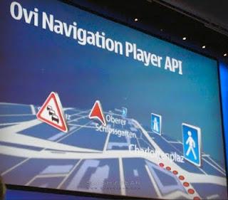 Ovi Navigation API