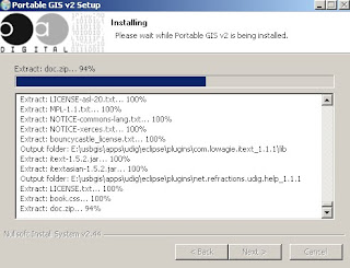 Installing Portable GIS v2 (on USB Stick)