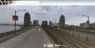 BING Maps Explore Streetside - Streetside Mode