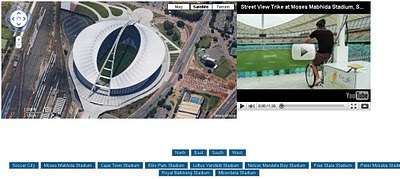 Keir Clarke South Africa Venues World Cup