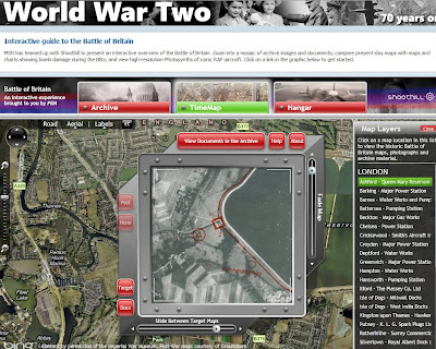 World War Two: Battle of Britain Maps