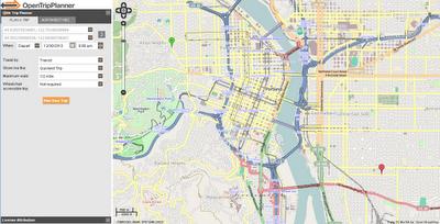OpenTripPlanner Portland