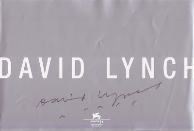 DAVID LYNCH autograf, Venedig 2006
